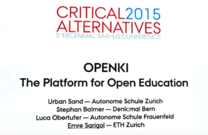 Critical Alternatives Openki